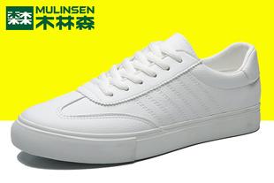 木林森男鞋潮鞋小白鞋