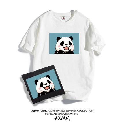 男童印花短袖t恤2019新款夏装