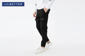 【满299减40】【lilbetter】暗色渲染潮流休闲裤