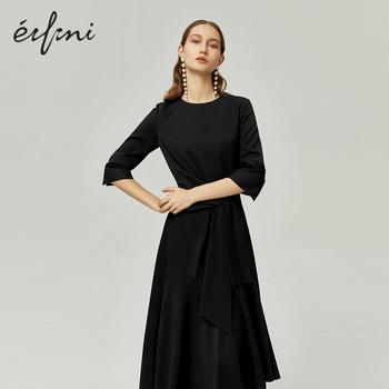 [商場同款]伊芙麗2020新款春裝黑