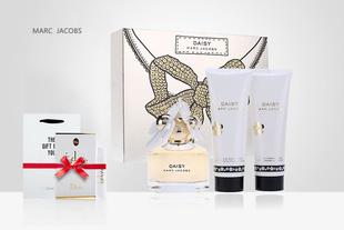 【买即送礼袋+迪奥试管】莫杰雏菊女士淡香氛礼盒香水+身体乳+沐浴啫喱三件组