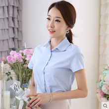 Kiskiy summer new Korean Short Sleeve Chiffon Blouse
