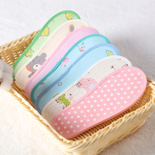 Children's insole spring and autumn pure cotton breathable and sweat absorbing, baby's insole cotton 3-5 pairs can be cut