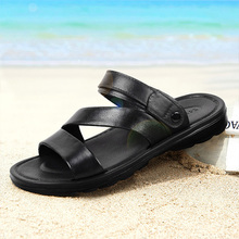 Huili sandals men's summer 2020 new antiskid wear-resistant Korean plastic beach shoes